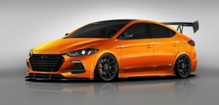 Hyundai Teams Up with Blood Type Racing to Create New Elantra Sport Concept Car