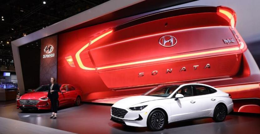Hyundai Sonata at 2020 CAS