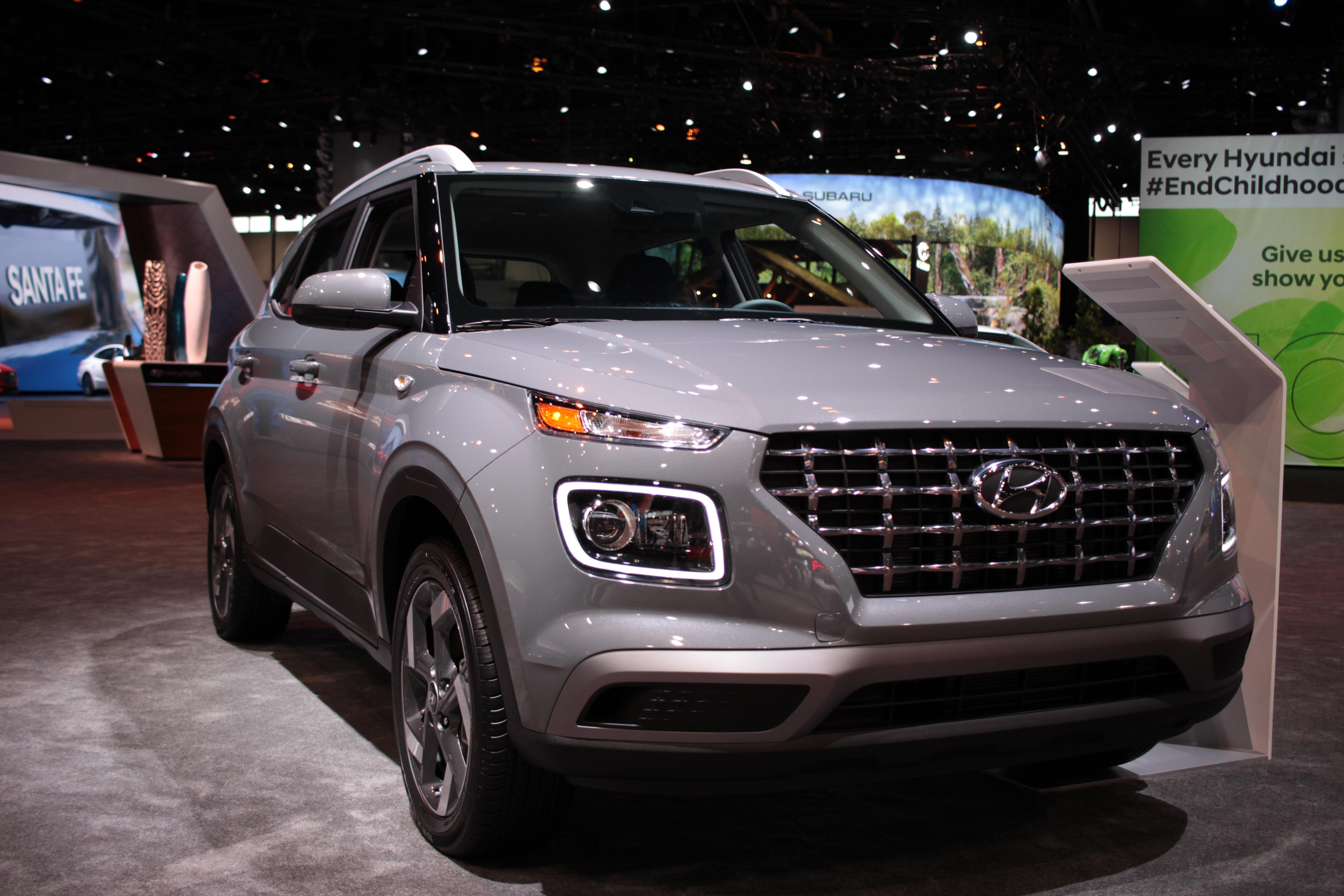 2020 Hyundai Venue at 2020 Chicago Auto Show2020 Hyundai Venue at 2020 Chicago Auto Show