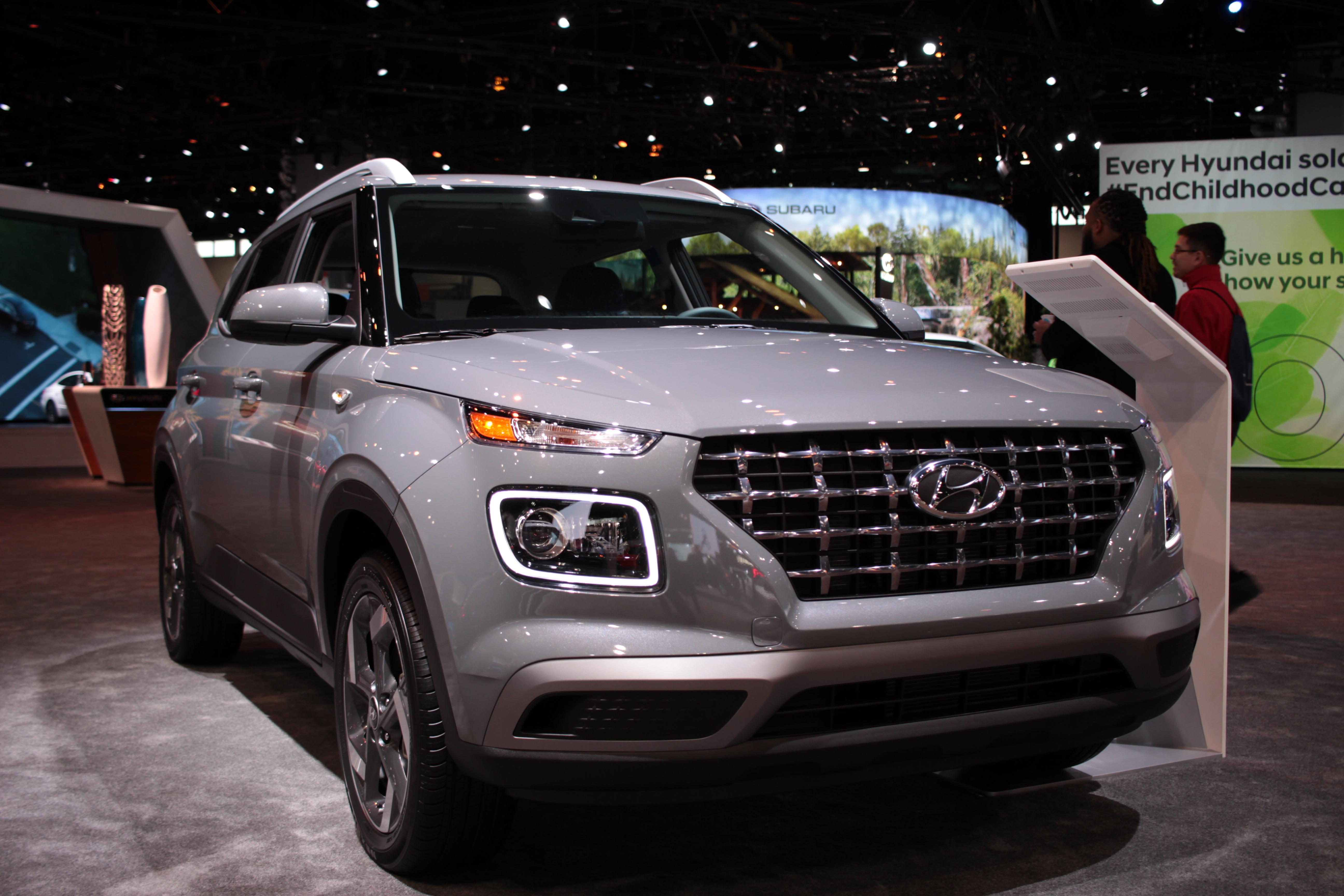 2020 Hyundai Venue at 2020 Chicago Auto Show
