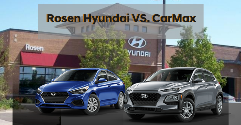Head on into Rosen Hyundai today to get the best car deal!