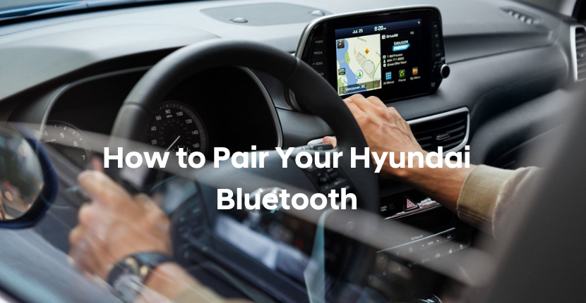 How to Pair Your Hyundai with Bluetooth