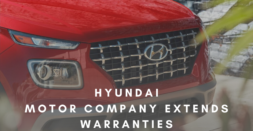 Hyundai Extends Warranties for Over 1 Million Vehicles