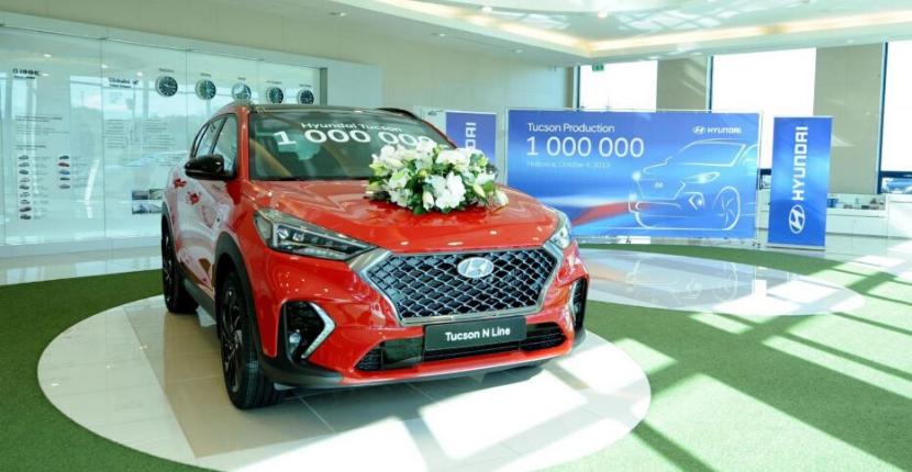 Hyundai Tucson Hits $1 Million in Sales
