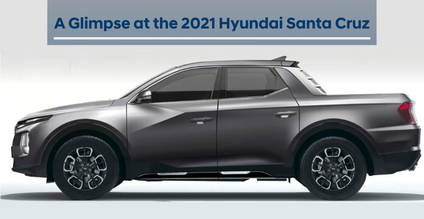A Glimpse at the 2021 Hyundai Santa Cruz