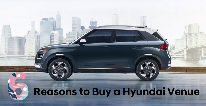 6 Reasons to Buy a Hyundai Venue at Algonquin Hyundai