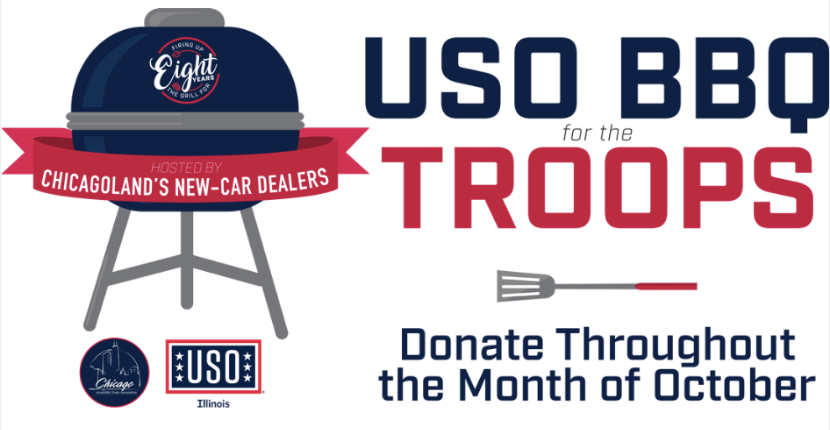 Rosen Hyundai Supports USO BBQ for the Troops
