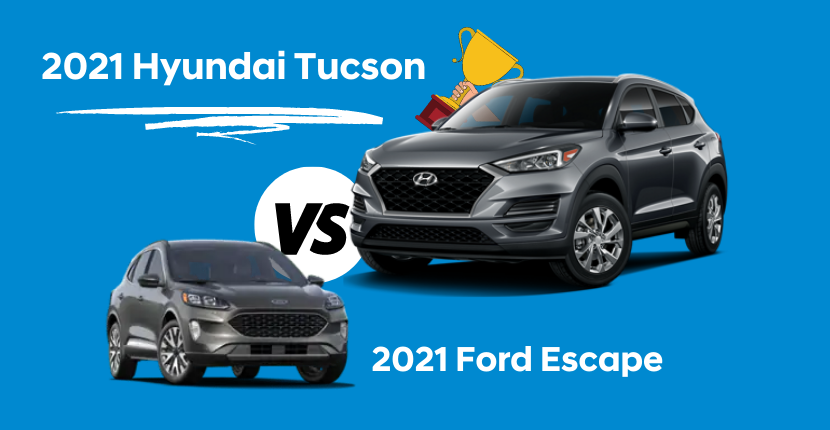 How the 2021 Hyundai Tucson Tops the 2021 Ford Escape