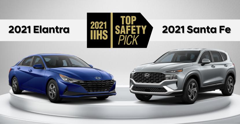 2021 Hyundai Top Safety Picks