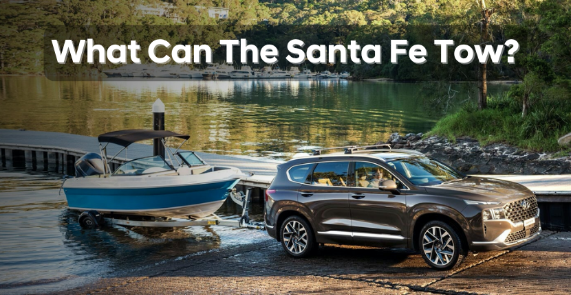 What Is The Santa Fe's Towing Capacity?
