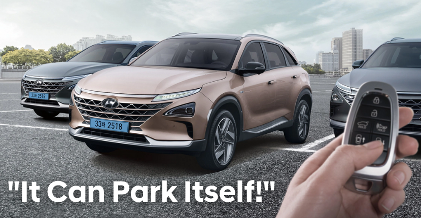 Hyundai Remote Smart Park Assist